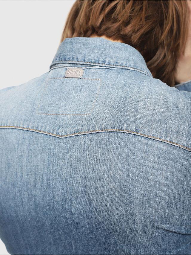 Diesel - DE-RINGY, Blue Jeans - Camisas de Denim - Image 4
