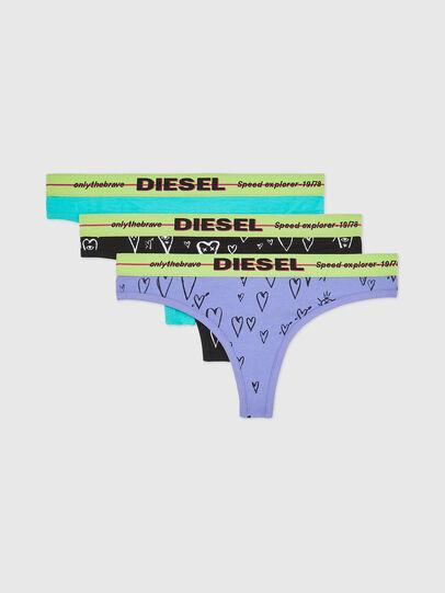 Diesel - UFST-STARS-THREEPACK, Multicolor - Tangas - Image 1
