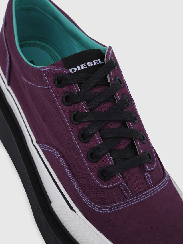Diesel - H-SCIROCCO LOW, Violeta Oscuro - Sneakers - Image 5