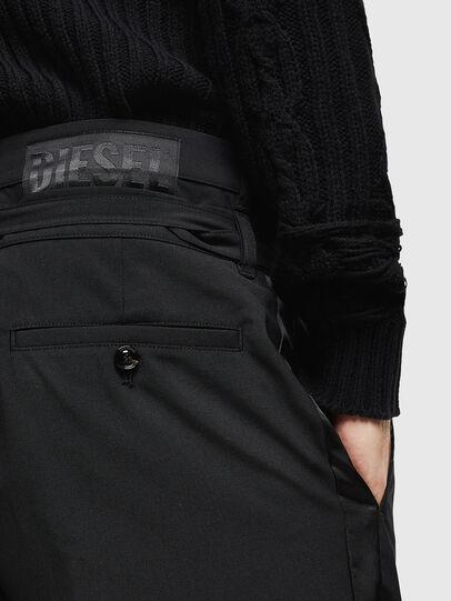 Diesel - P-HOOKY, Negro - Pantalones - Image 4