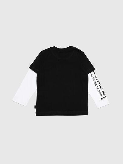 Diesel - TANCEB-R, Negro/Blanco - Camisetas y Tops - Image 2