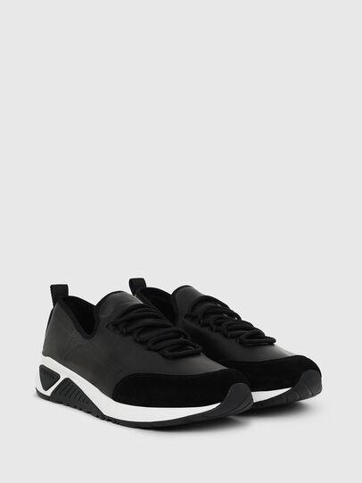 Diesel - S-KBY, Piel Negra - Sneakers - Image 2