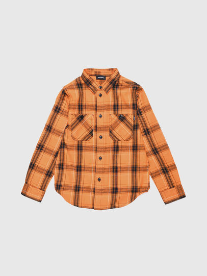 Diesel - COIZE, Naranja/Negro - Camisas - Image 1