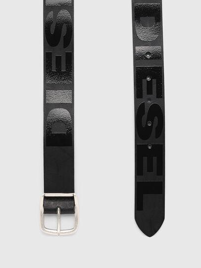Diesel - BARBAR, Negro - Cinturones - Image 4