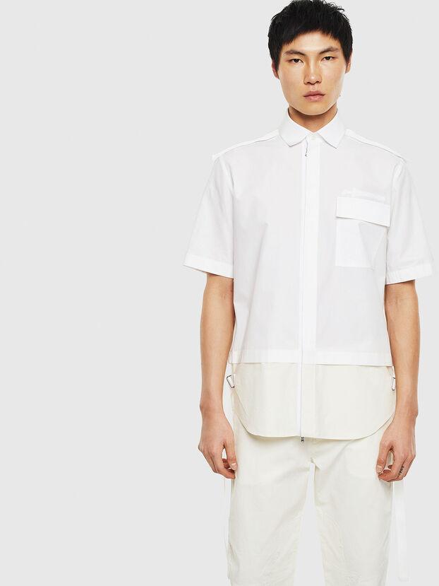 S-GIBBS, Blanco - Camisas