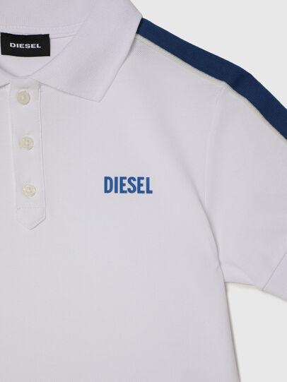 Diesel - TRALFYS1, Blanco/Azul marino - Camisetas y Tops - Image 3