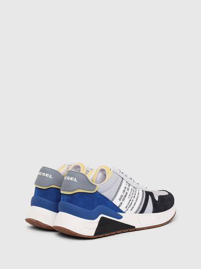 Diesel - S-BRENTHA FLOW, Gris/Azul - Sneakers - Image 3