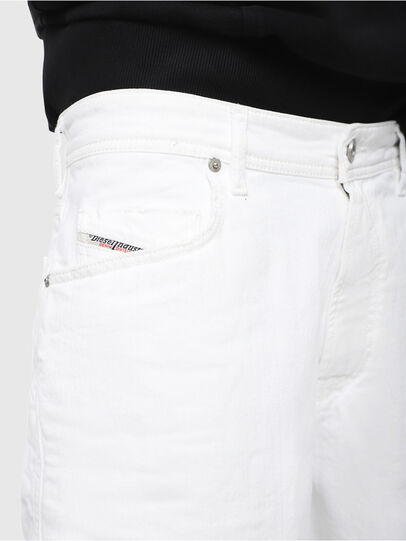 Diesel - D-WILLOH, Blanco - Shorts - Image 3