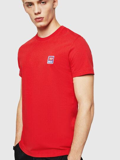 Diesel - T-DIEGO-DIV, Rojo Fuego - Camisetas - Image 1