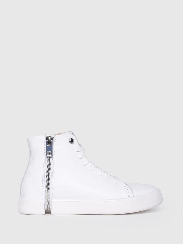 Diesel - S-NENTISH MC W, Blanco - Sneakers - Image 1
