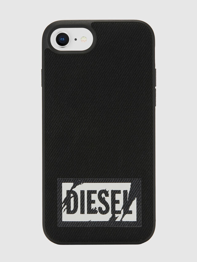 Diesel - BLACK DENIM IPHONE 8/7/6S/6 CASE, Negro - Fundas - Image 2