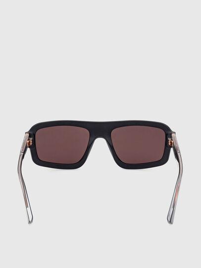 Diesel - DL0348, Negro/ Rojo - Gafas de sol - Image 4