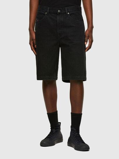 Diesel - D-MACS-SHORT, Negro - Shorts - Image 1