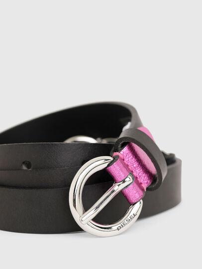 Diesel - B-OLIMP, Negro/Rosa - Cinturones - Image 2