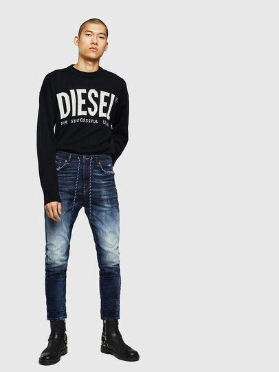 Diesel - D-Vider JoggJeans 069KD, Azul Oscuro - Vaqueros - Image 5