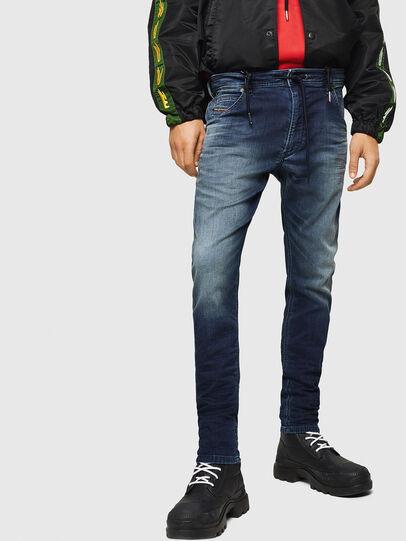Diesel - Krooley JoggJeans 069HH, Azul Oscuro - Vaqueros - Image 1