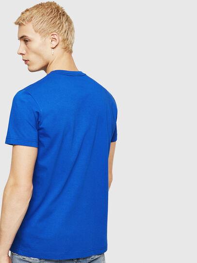 Diesel - T-DIEGO-DIV, Azul Brillante - Camisetas - Image 2