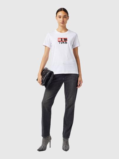 Diesel - T-SILY-B6, Blanco - Camisetas - Image 4