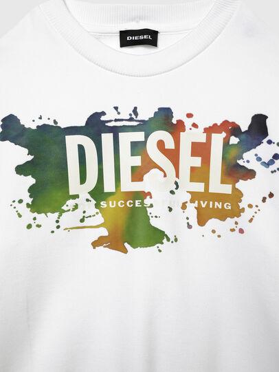 Diesel - SCREWDOSKY OVER, Blanco - Sudaderas - Image 3