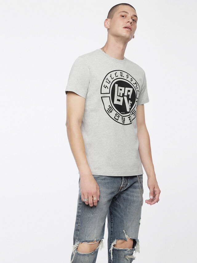 Diesel - T-DIEGO-XC, Mélange Ligero - Camisetas - Image 1