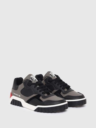 Diesel - S-RUA LOW SK, Gris - Sneakers - Image 2