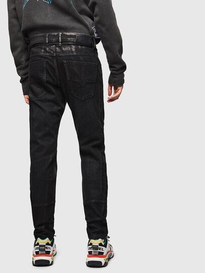 Diesel - D-Luhic JoggJeans 0092W, Negro/Gris oscuro - Vaqueros - Image 2