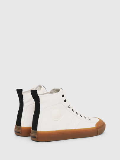 Diesel - S-ASTICO MID LACE, Blanco - Sneakers - Image 3