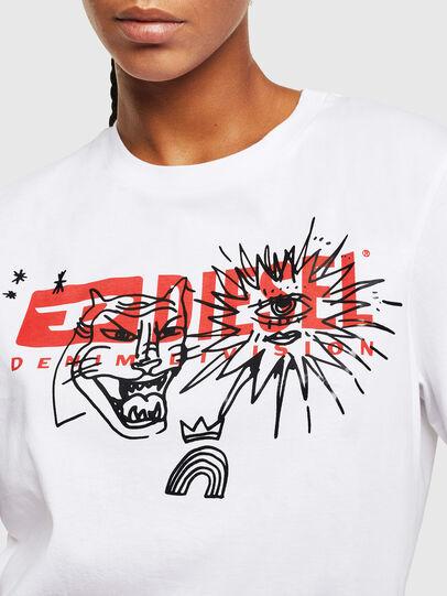 Diesel - T-DARIA-YC, Blanco - Camisetas - Image 3