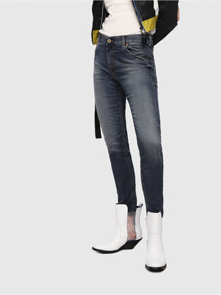 Krailey JoggJeans 069FG, Azul medio - Vaqueros