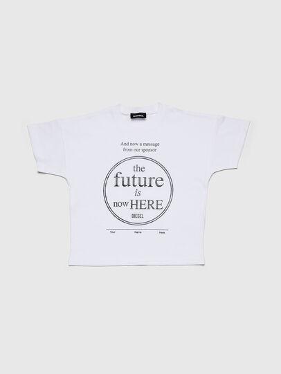 Diesel - TARTIB-R, Blanco - Camisetas y Tops - Image 1