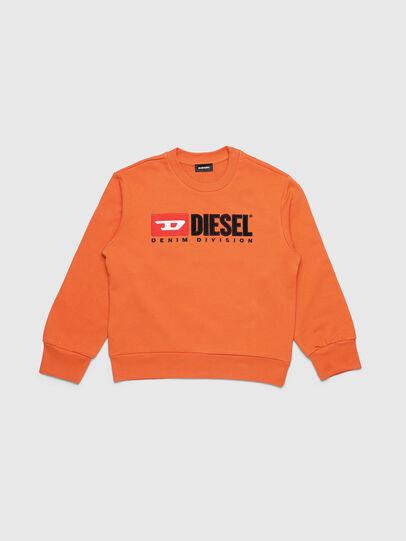 Diesel - SCREWDIVISION OVER, Naranja - Sudaderas - Image 1