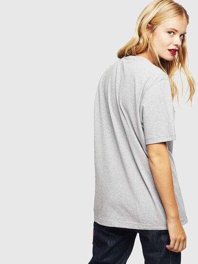 Diesel - CC-T-JUST-COLA, Gris - Camisetas - Image 4