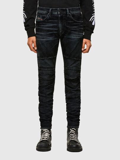 Diesel - D-Strukt JoggJeans® 069TG, Negro/Gris oscuro - Vaqueros - Image 1