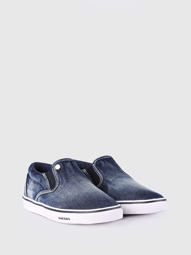 Diesel - SLIP ON 21 DENIM CH, Blue Jeans - Calzado - Image 2