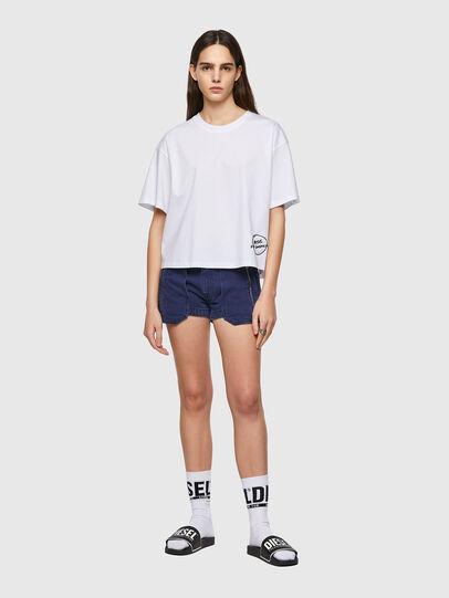 Diesel - T-BOWBOW, Blanco - Camisetas - Image 5