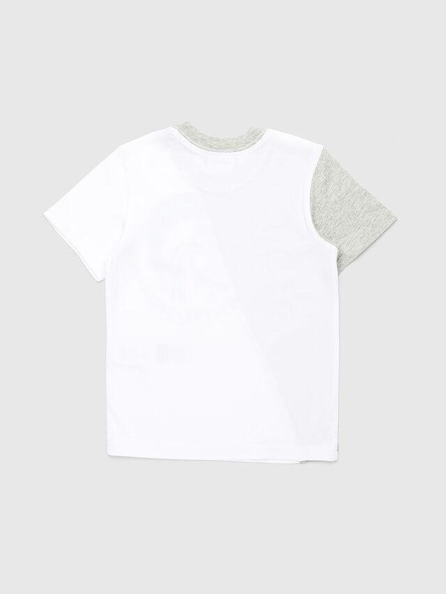 Diesel - TICAB-R, Blanco/Gris - Camisetas y Tops - Image 2
