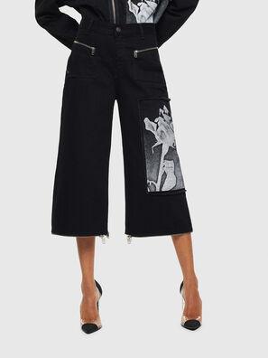DE-REIKA-SX, Negro - Pantalones
