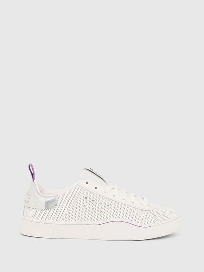 Diesel - S-CLEVER LC W, Blanco/Rosa - Sneakers - Image 1