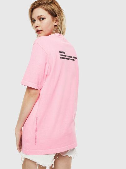 Diesel - T-JUST-NEON, Rosa - Camisetas - Image 4