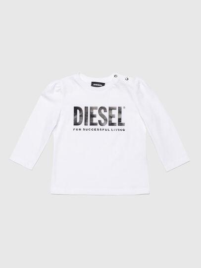 Diesel - TRASSYB, Blanco - Camisetas y Tops - Image 1