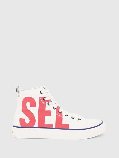 Diesel - S-ASTICO MC W, Blanco/Rojo - Sneakers - Image 1