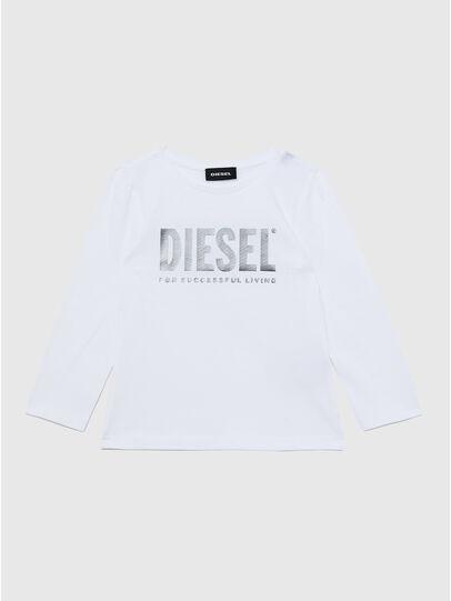 Diesel - TRASSYB-R, Blanco - Camisetas y Tops - Image 1