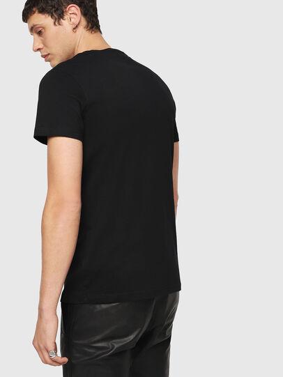 Diesel - T-DIEGO-QA, Negro - Camisetas - Image 2