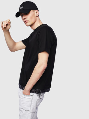 T-GLASSY, Negro - Camisetas