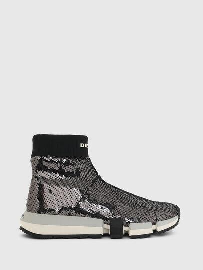 Diesel - H-PADOLA SOCK W, Negro - Sneakers - Image 1