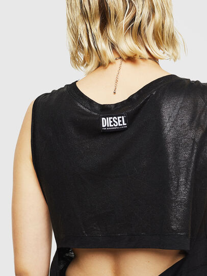 Diesel - T-ABBY, Negro - Tops - Image 6