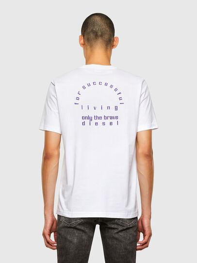 Diesel - T-JUST-N44, Blanco - Camisetas - Image 2