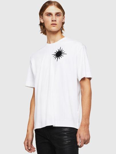 Diesel - TEORIALE-X1, Blanco - Camisetas - Image 1