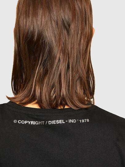 Diesel - D-STORM-A1, Negro - Vestidos - Image 5