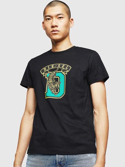 Diesel - T-DIEGO-B4, Negro - Camisetas - Image 1